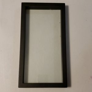 Black frame double sided
